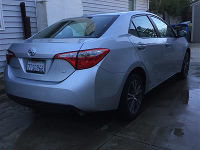 2016 Toyota Corolla lease in Sacramento,CA - Swapalease.com