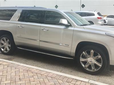 2015 Cadillac Escalade ESV lease in Miami,FL - Swapalease.com