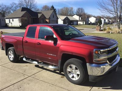 2016 Chevrolet Silverado 1500 lease in Columbiana,OH - Swapalease.com