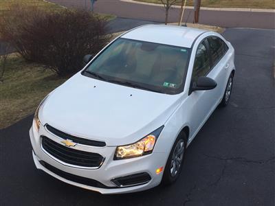 2016 Chevrolet Cruze lease in pottstown,PA - Swapalease.com