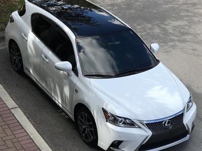 2015 Lexus CT200h F Sport lease in charlotte,NC - Swapalease.com