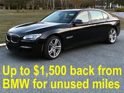 2014 BMW 7 Series lease in Bridgeville,DE - Swapalease.com