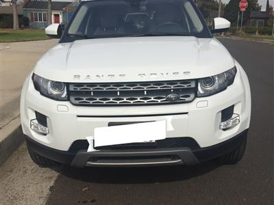 2015 Land Rover Range Rover Evoque lease in Los Angeles,CA - Swapalease.com
