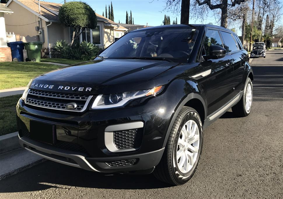 2016 land rover range rover evoque lease in los angeles ca. Black Bedroom Furniture Sets. Home Design Ideas