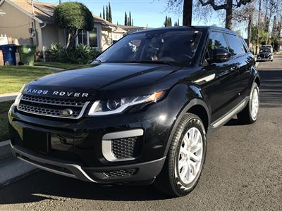 2016 Land Rover Range Rover Evoque lease in Los Angeles,CA - Swapalease.com