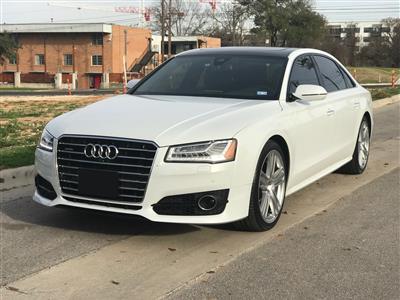 2016 Audi A8 L lease in Austin,TX - Swapalease.com