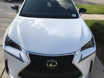 2017 Lexus NX Turbo F Sport lease in Riverview,FL - Swapalease.com