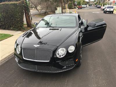 2016 Bentley Continental GT W12 lease in Coronado,CA - Swapalease.com