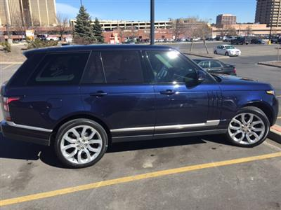 2015 Land Rover Range Rover lease in Denver,CO - Swapalease.com