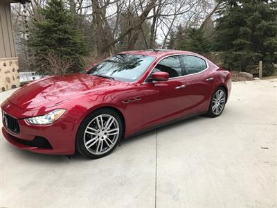 2015 Maserati Ghibli lease in Milwaukee,WI - Swapalease.com