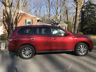 2016 Nissan Pathfinder lease in North Chesterfield,VA - Swapalease.com