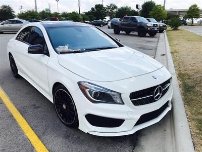 2016 Mercedes-Benz CLA-Class lease in austin,TX - Swapalease.com