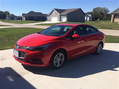 2016 Chevrolet Cruze lease in Polk City,IA - Swapalease.com