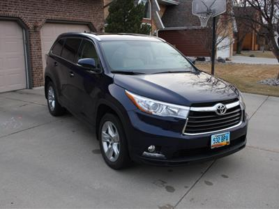 2015 Toyota Highlander lease in Fargo,ND - Swapalease.com
