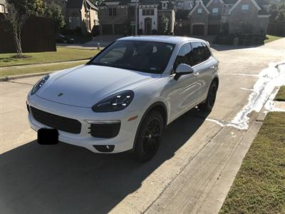 2016 Porsche Cayenne lease in Irving,TX - Swapalease.com