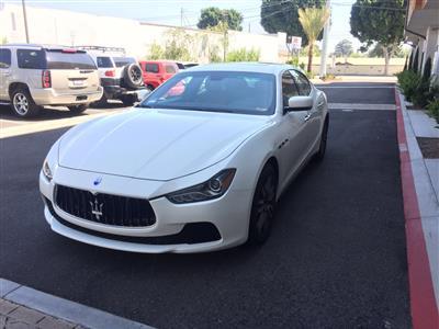 2015 Maserati Ghibli lease in Temple City,CA - Swapalease.com