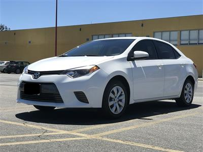 2015 Toyota Corolla lease in Los Angeles,CA - Swapalease.com