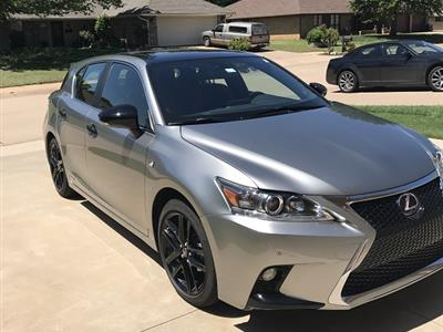 2016 Lexus CT 200h F Sport lease in Stillwater,OK - Swapalease.com