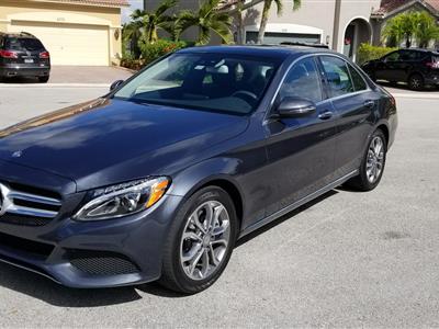 2016 Mercedes-Benz C-Class lease in Weston,FL - Swapalease.com