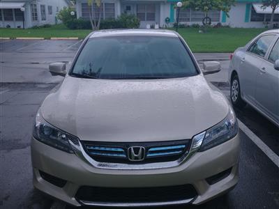 2015 Honda Accord Hybrid lease in Plantation,FL - Swapalease.com