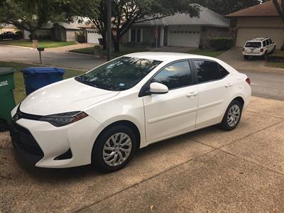 2017 Toyota Corolla lease in San Antonio,TX - Swapalease.com