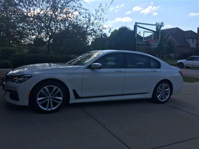 2016 BMW 7 Series lease in New Lenox,IL - Swapalease.com