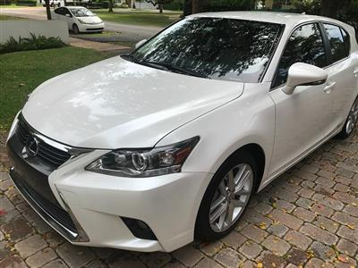 2016 Lexus CT 200h lease in Coral Gables,FL - Swapalease.com