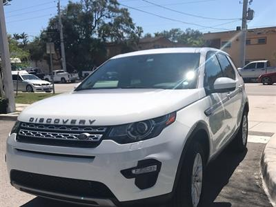 2016 Land Rover Discovery Sport lease in Miami,FL - Swapalease.com