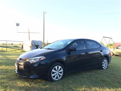 2016 Toyota Corolla lease in Grandview,TX - Swapalease.com