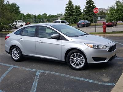 2016 Ford Focus lease in Wixom,MI - Swapalease.com
