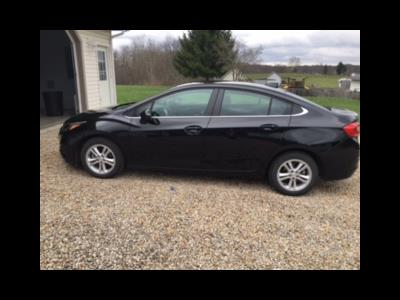 2017 Chevrolet Cruze lease in Zanesville ,OH - Swapalease.com