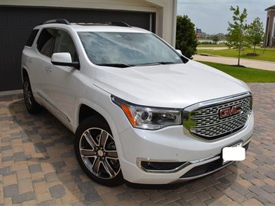2017 GMC Acadia lease in Cypress ,TX - Swapalease.com