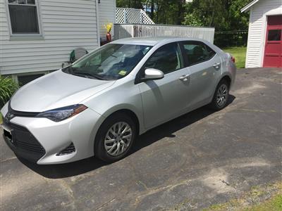 2017 Toyota Corolla lease in Bangor,ME - Swapalease.com