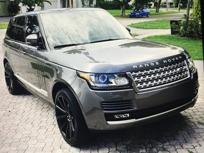 2015 Land Rover Range Rover lease in Fort Lauderdale,FL - Swapalease.com