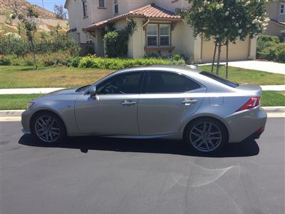 2016 Lexus IS 200t F Sport lease in Santa Clarita,CA - Swapalease.com