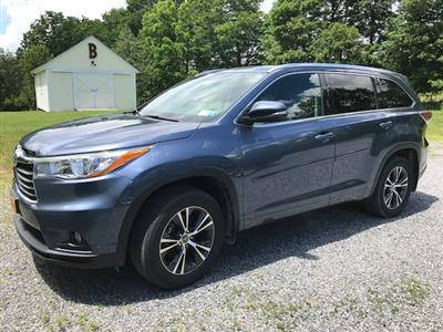 2016 Toyota Highlander lease in Clinton Corners,NY - Swapalease.com