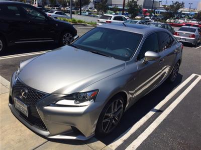 2016 Lexus IS 200t F Sport lease in Playa del Rey,CA - Swapalease.com