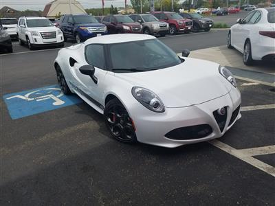 2017 Alfa Romeo 4C lease in Rochester,NY - Swapalease.com