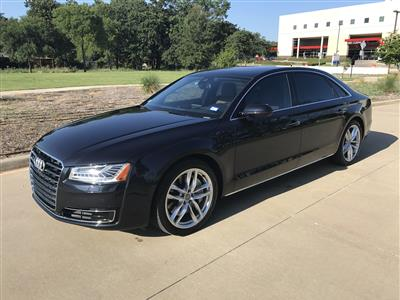 2015 Audi A8 L lease in Irving,TX - Swapalease.com