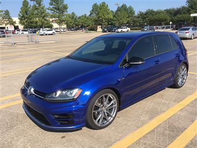 2017 Volkswagen Golf R lease in Houston,TX - Swapalease.com