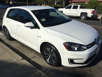 2016 Volkswagen e-Golf lease in Paloalto,CA - Swapalease.com