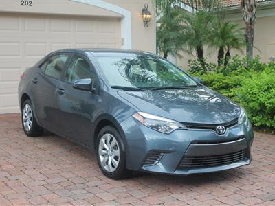2016 Toyota Corolla lease in Naples,FL - Swapalease.com