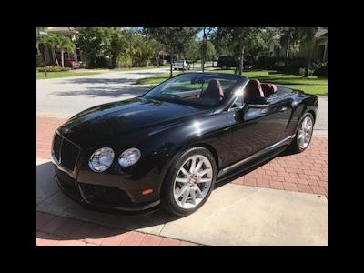 2015 Bentley Continental  GTC V8 S lease in Boyton Beach,FL - Swapalease.com