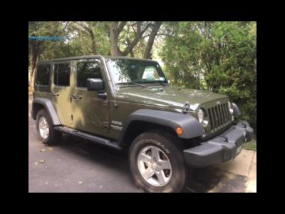 2016 Jeep Wrangler Unlimited lease in Islip,NY - Swapalease.com