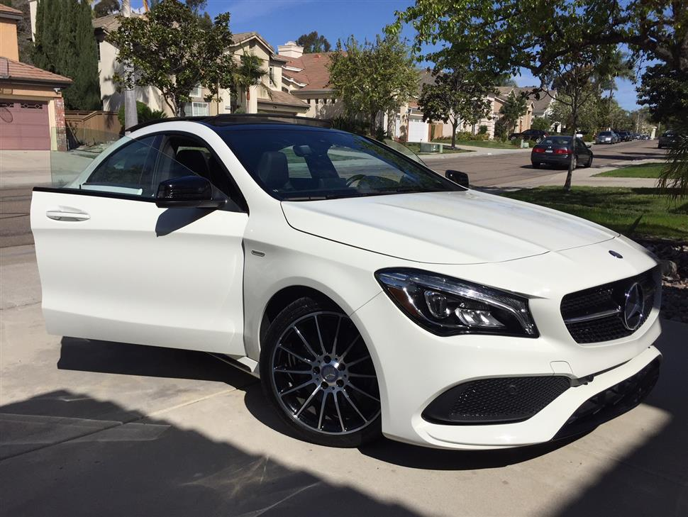 2018 mercedes benz cla coupe lease in san diego ca. Black Bedroom Furniture Sets. Home Design Ideas