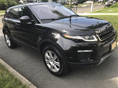 2016 Land Rover Range Rover Evoque lease in kearny,NJ - Swapalease.com