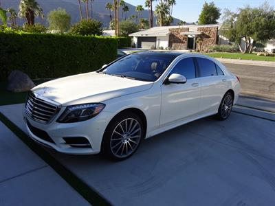 2016 Mercedes-Benz S-Class lease in Rancho Mirage,CA - Swapalease.com