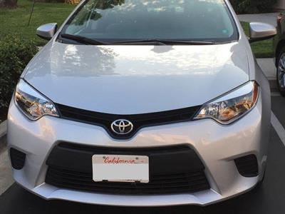 2016 Toyota Corolla lease in San Diego,CA - Swapalease.com