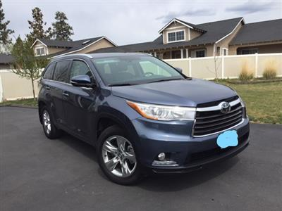 2016 Toyota Highlander lease in Bend,OR - Swapalease.com