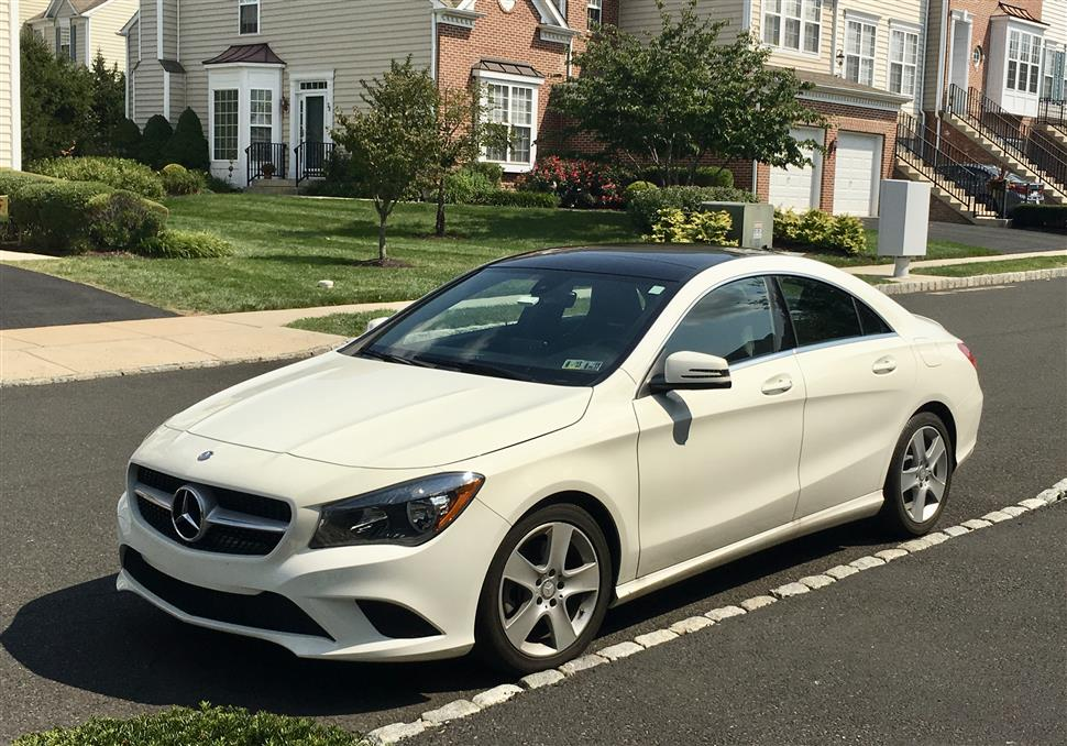 2016 mercedes benz cla class lease in doylestown pa. Black Bedroom Furniture Sets. Home Design Ideas